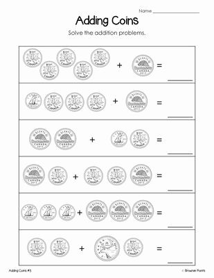 Adding And Subtracting Money Worksheets Money Worksheets Money Math Worksheets Money Math