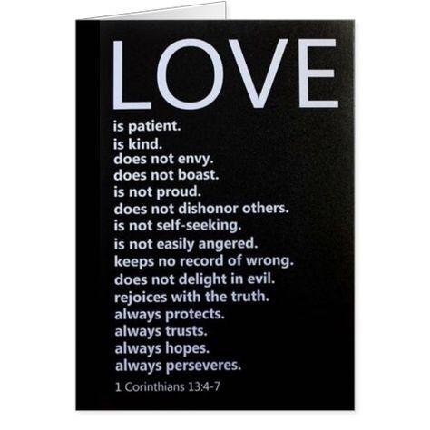 """1 Corinthians 13:4-7 DESCRIBES """"OUR LOVE!"""""""