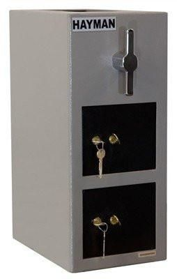 Hayman Cv H19 2 Kk Double Door Rotary Depository Safe Always Free Shipping And Best Pricing Rotary Safe Wall Safe