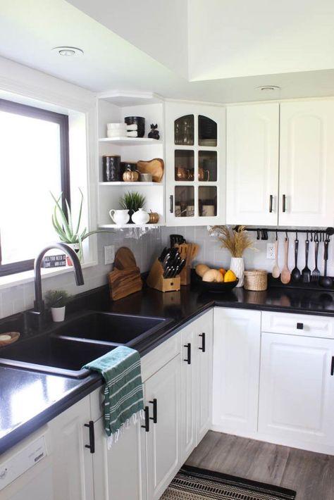 Our Modern Fall Kitchen Tour - Love Create Celebrate,  #Celebrate #Create #Diyhomedecor #Fall #Kitchen #love #Modern #Tour