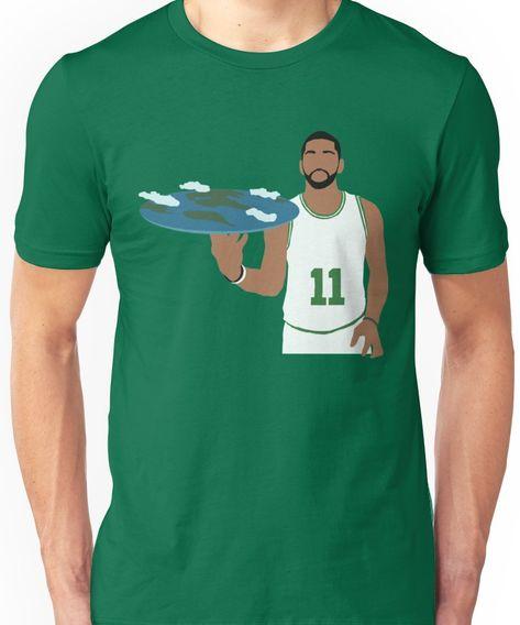 0dc260987 Kyrie Irving Flat Earth Celtics Unisex T-Shirt