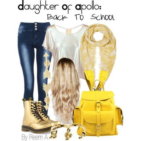 Daughter Of Hermes Back To School Outfit, Cabin 11, Percy Jackson