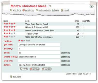 8 best Best Family Wish List Maker images on Pinterest List - christmas list maker free