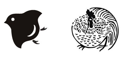 鳥モチーフで家紋 家紋 モチーフ 鳥