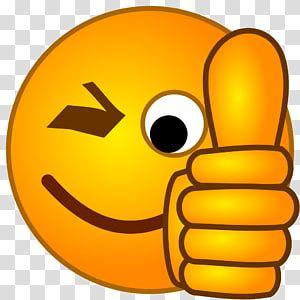 Wink With Thumbs Up Emoji Thumb Signal Emoji Smiley Thumbs Up Transparent Background Png Clipart Wow Emoji Hand Emoji Clip Art