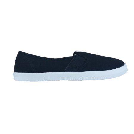 Canvas Shoe - Walmart.com   Black slip