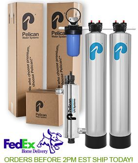 Pelican Whole House Filter Water Softener Alternative With Uv