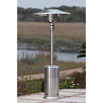 Fire Sense Stainless Steel Pro Series Patio Heater   61436