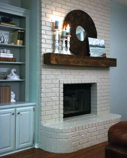 White Brick Fireplace Amazing White Brick Fireplace With Gray Walls Ideas Red Brick Firep Painted Brick Fireplaces White Brick Fireplace Brass Fireplace Screen
