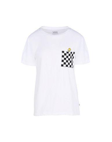 VANS Women's T-shirt White L INT