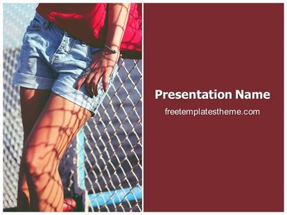 15 best free fashion and beauty powerpoint ppt templates images on download free female shorts powerpoint template for your powerpoint toneelgroepblik Image collections
