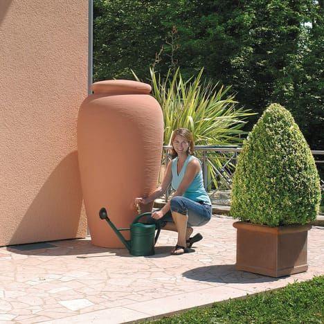 Garantia Cuve à Eau Amphore 300l Coloris Terracotta
