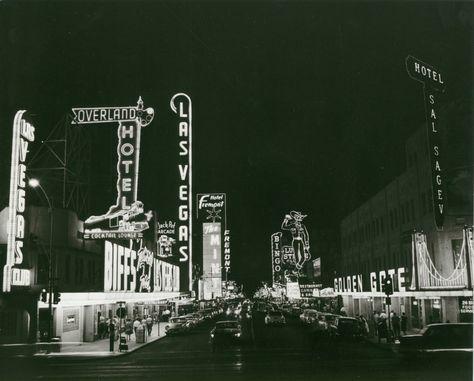 Fremont Street, 1950s