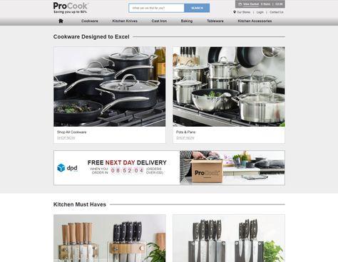 Cookware & Kitchenware Shop - Gourmet Kitchenware Retailer in UK