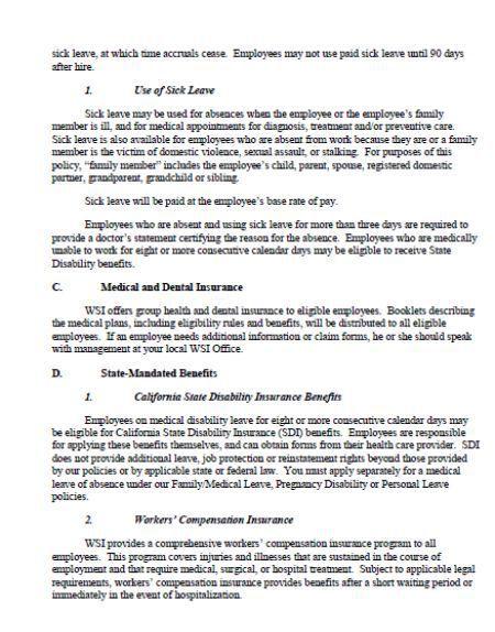 Employee Handbook Templates Detailed Guide On Employee Handbook 40 Free Templates Templ Employee Handbook Template Employee Handbook Looking For Employees