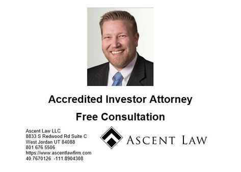 Can I Lie About Being An Accredited Investor Probate Divorce Lawyers Utah Divorce