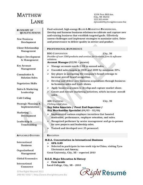 Electrical Engineer Resume Example Resume examples - human resource management resume examples