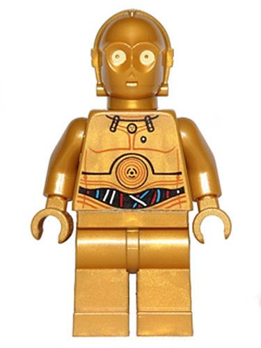 Lego Star Wars Figur C-3PO Droid 9490 10236