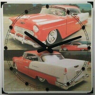 1955 Chevrolet Bel Air Wall Clock 12 X 12 Fashion Home Garden Homedcor Clocks Ebay Link Chevrolet Bel Air 1955 Chevrolet Bel Air