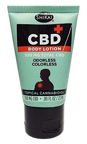 Amazon com: Shikai CBD Body Lotion 100 Mg Total CBD-0 8 Oz