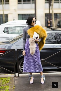 A collection of street style photos which you might love and inspire your own fashion.