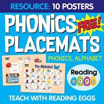 10 Free Phonics Posters Phonics Free Phonics Posters Phonics