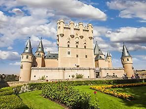 Alcazar De Segovia House Styles Building Mansions