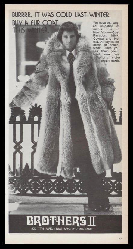 d59c63eb7 Pin by Edward Diamond on Men in fur in 2019 | Mens fashion, Mens fur,  Fashion