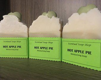 Hot Apple Pie Soap For 3 On Etsy Made With Sunflower Oil Coconut Oil And Palm Oil Sunflower Oil Is High In Omega 6 Fatty New Skin Reduces Acne Skin Health