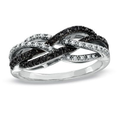 love. although would be prettier in all white diamonds. black just doesn't have enough sparkle!