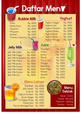 Hasil Gambar Untuk Contoh Daftar Menu Makanan Makanan Stroberi