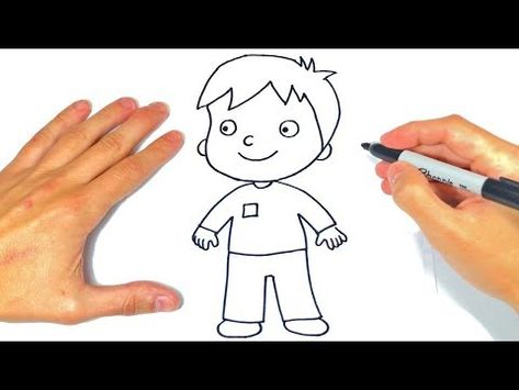 Como Dibujar Un Nino Paso A Paso Dibujo De Nino O Chico Youtube Como Dibujar Ninos Dibujos Para Ninos Drawing Lessons