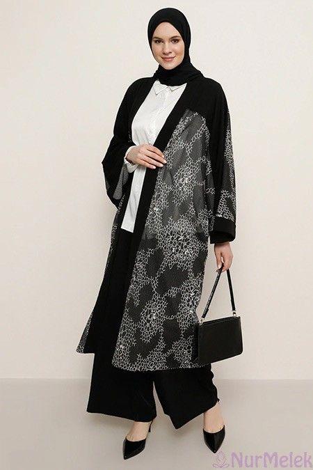 Tesettur Buyuk Beden Kimono 2020 Giyim Moda Stilleri Kiyafet