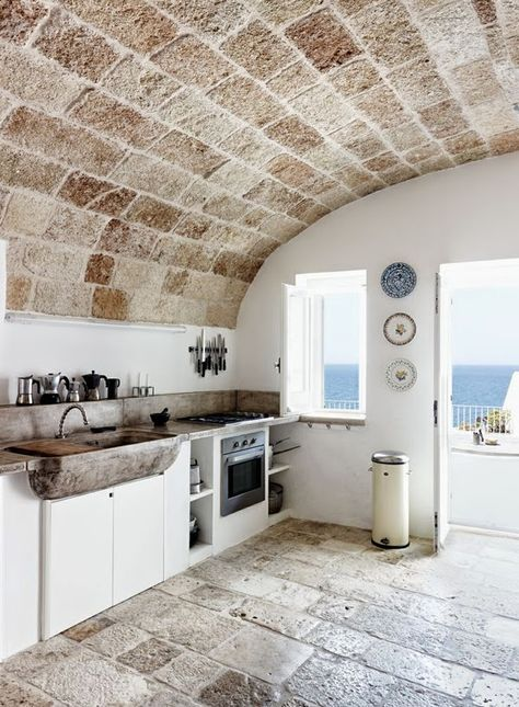 A  stone home of Lars and Pernille Lembcke in Apulia, Italy