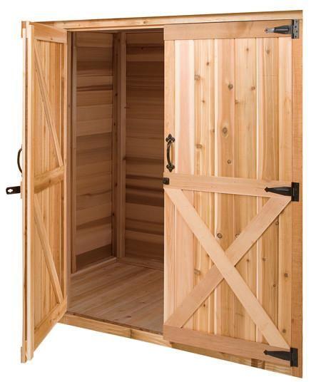 Double Door With Frame Option Shed Doors Diy Door Garage Door Design