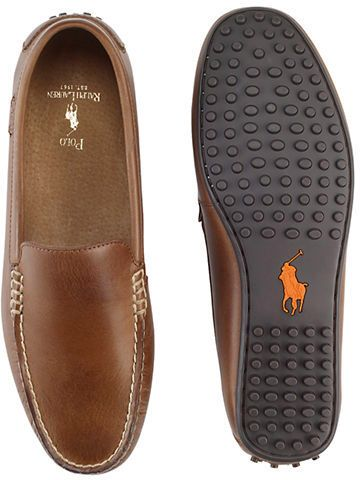 03d4a4f5 Polo Ralph Lauren Woodley Leather Loafers | Men's Shoes - Boats to ...