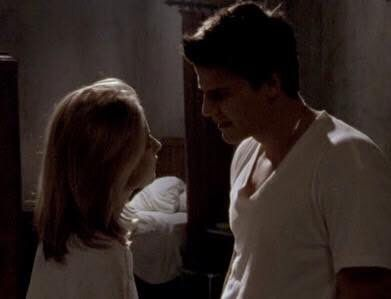 Buffy And Angel Find Themselves Alone In His Apartment The Two Make Love For First Time Naturally They Re Unaware That This Moment Of Tru