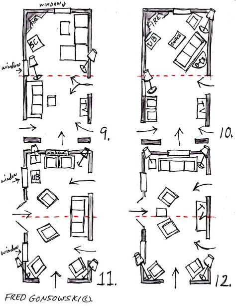 Arranging Furniture In A 12 Foot Wide By 24 Foot Long Living Room Long Living Room Awkward Living Room Layout Rectangular Living Rooms
