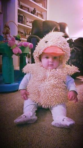 Kids Halloween Costumes: Baby Duck