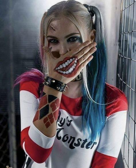 38 Ideas For Makeup Halloween Joker Harley Quinn