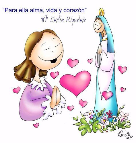 Para ella alma, vida y corazón (María Emilia Riquelme)