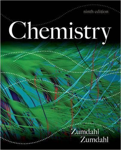 Chemistry Zumdahl 9th Edition Pdf Chemistry Textbook Chemistry