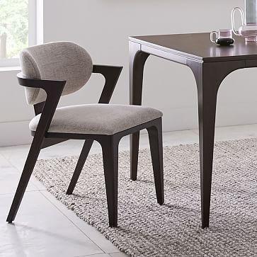 Adam Court Upholstered Dining Chair Yemek Masasi Sandalyesi