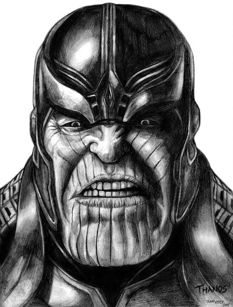 Thanos (Avengers - Infinity War) by