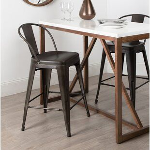 Awe Inspiring Counter Height Bar Stools Youll Love Wayfair Patio In Inzonedesignstudio Interior Chair Design Inzonedesignstudiocom