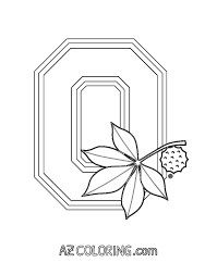 ohio state coloring pages # 7