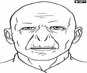 The Face Of Lord Voldemort Coloring Page Harry Potter Images Colors And Printable Harry Potter Coloring Sh Coloring Pages Easter Coloring Pages Coloring Sheets