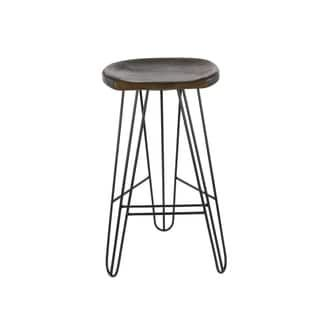 Brilliant Dalton 25 In Pepper Backless Swivel Counter Stool 3106 025 Squirreltailoven Fun Painted Chair Ideas Images Squirreltailovenorg