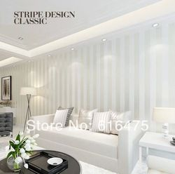 Online Shop European Modern Minimalist Country Luxury Stripe Wallpaper Roll  For Living Room Bedroom TV Backdrop