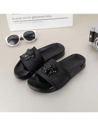 Versace slippers, Versace men, Mens